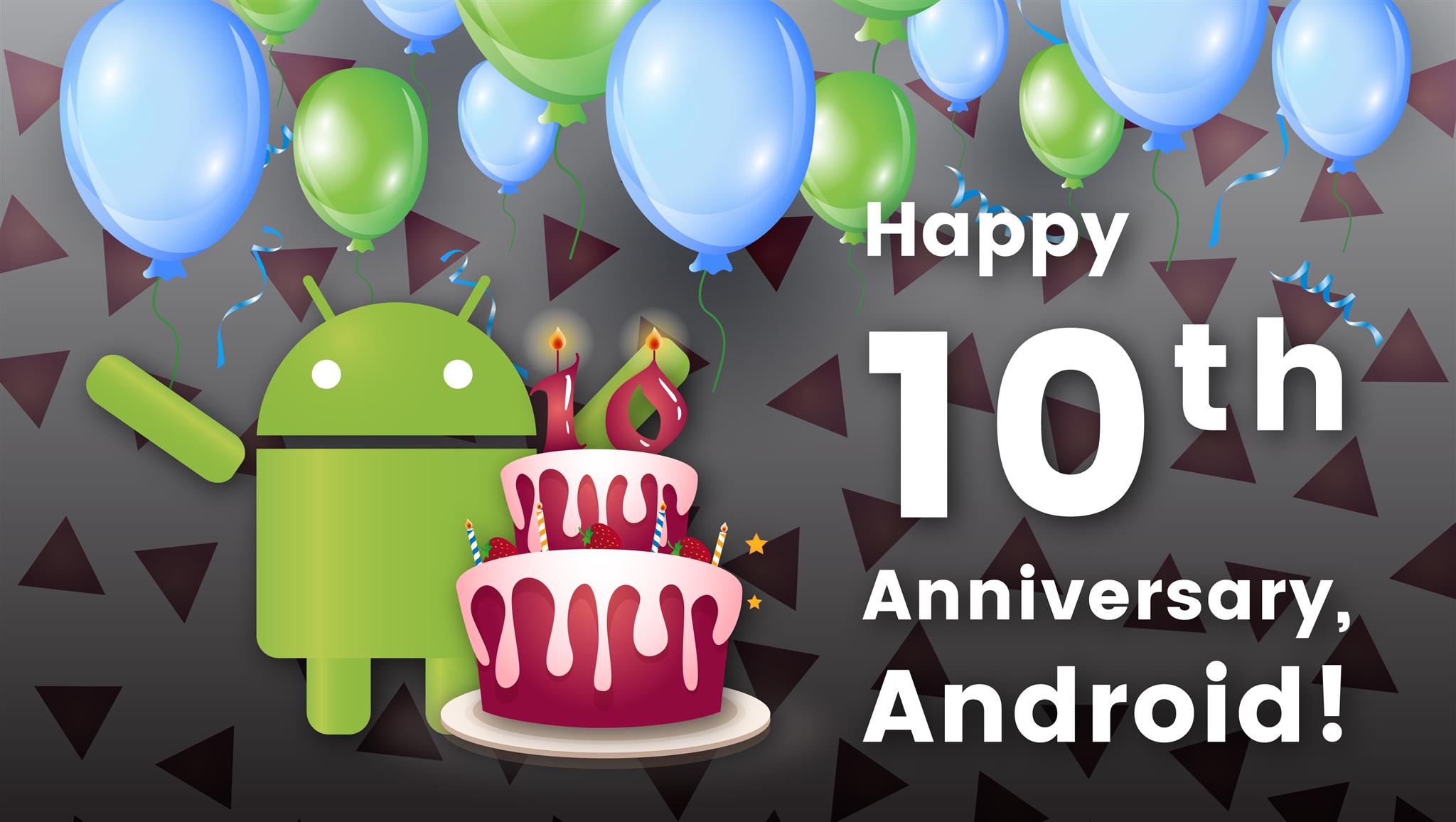 Happy 10th Anniversary, Android!