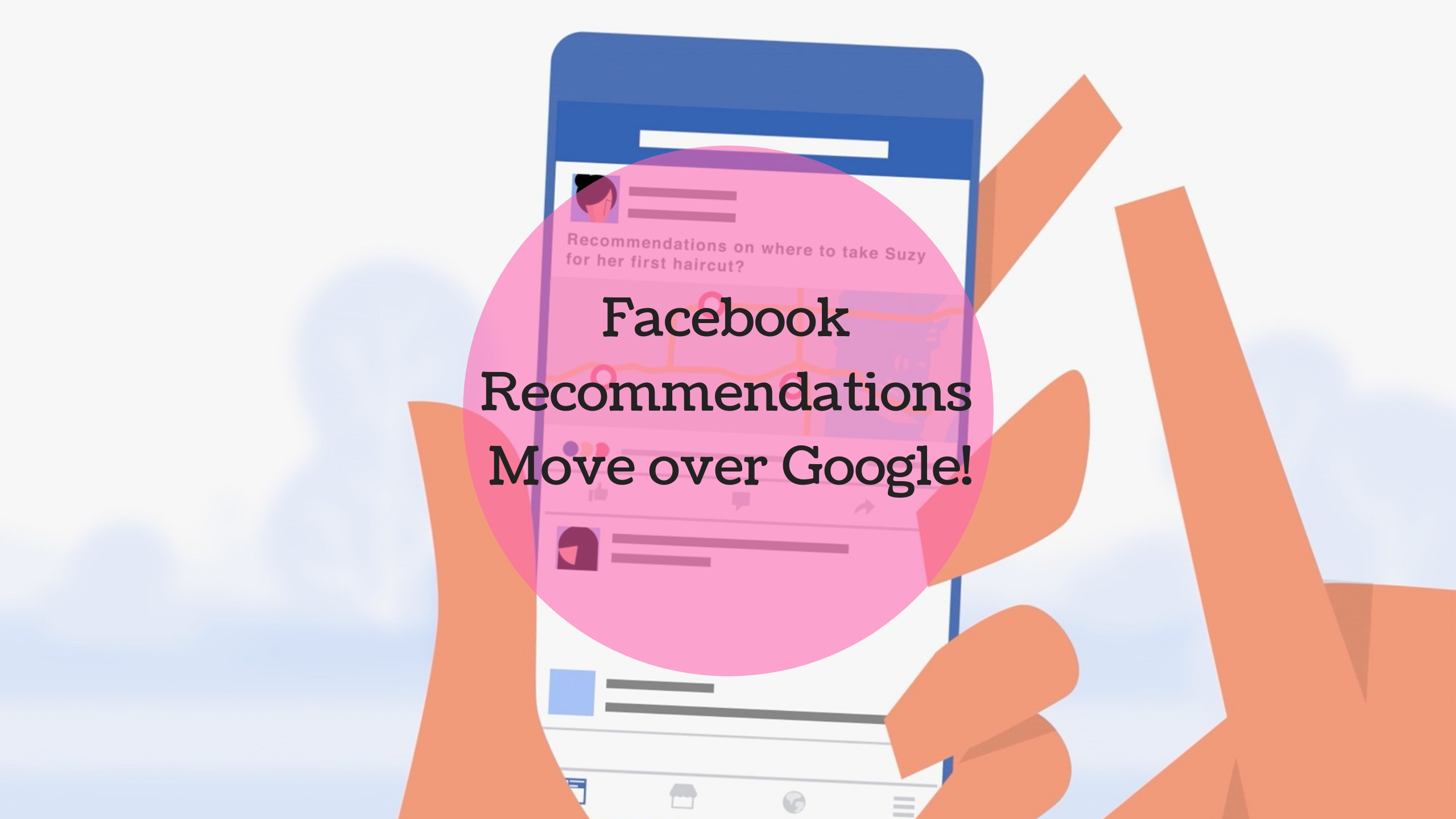 Facebook Introduces New Feature of Recommendations – Move Over Google?